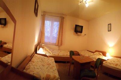Noclegi w pokojach 4-osobowych dla Grupy